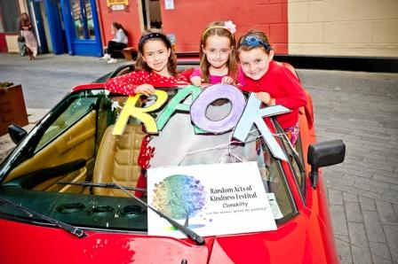'One Kind Day' for Random Acts of Kindness Festival Clonakilty on  July 18th 2015